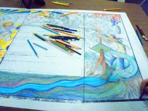 Color Drawing w Pencils