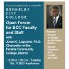 Oct 17 Open Forum