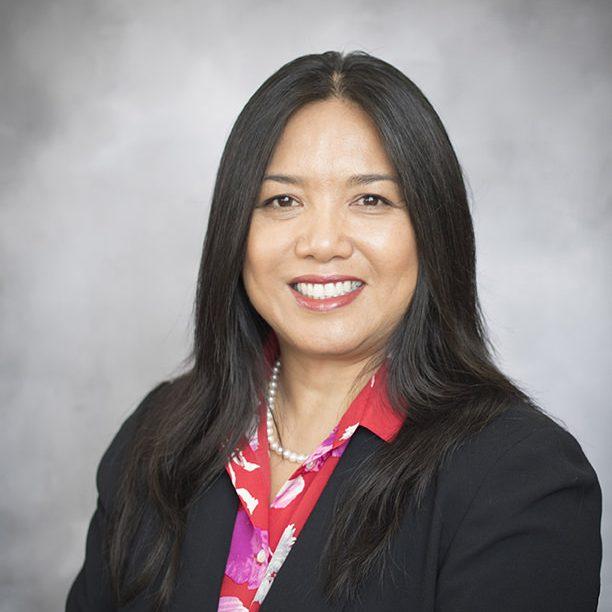 President Rowena Tomaneng