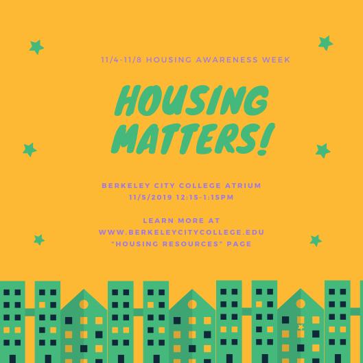 Housing Awareness Week