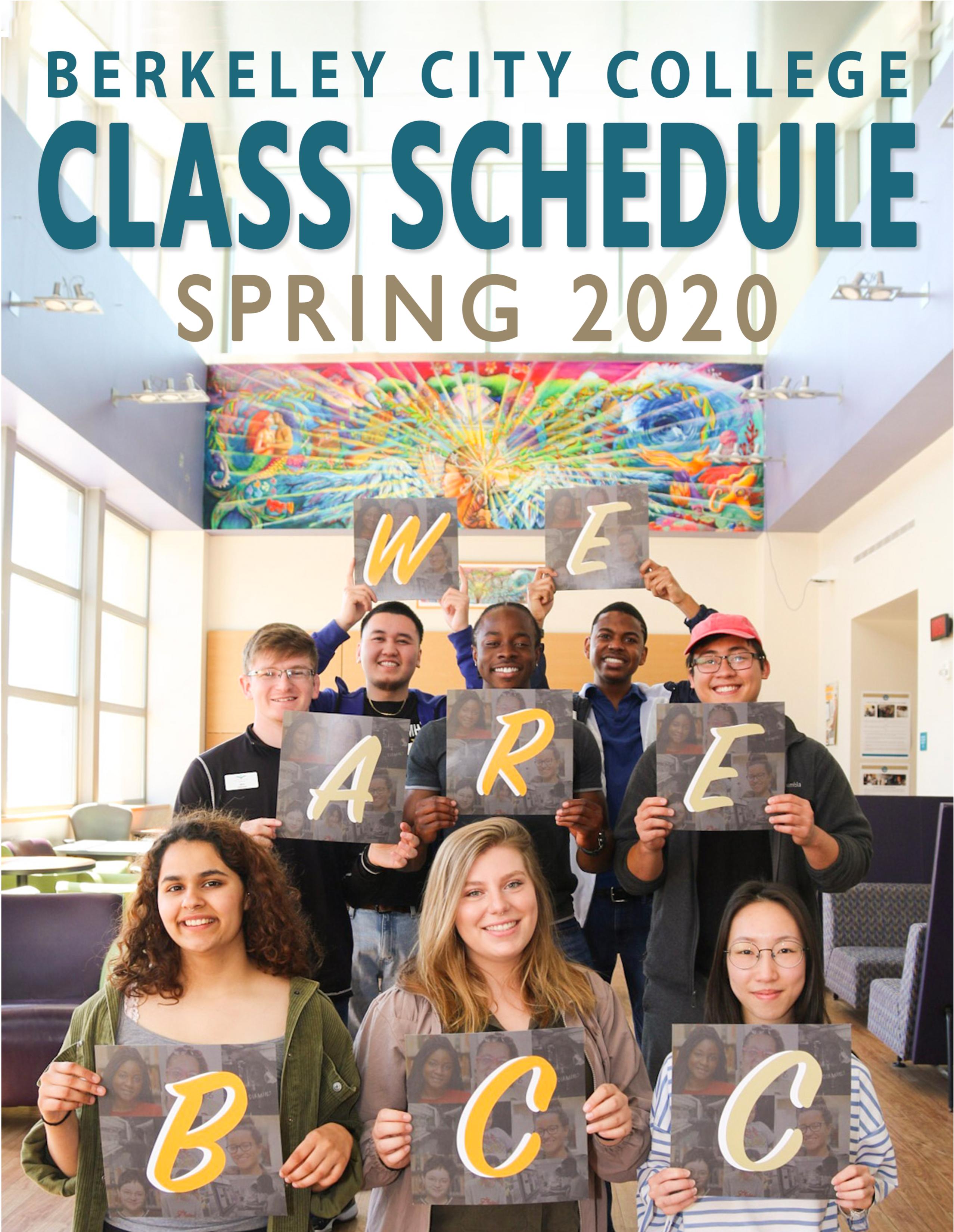 Uc Berkeley Fall 2020 Final Schedule.Home Berkeley City College