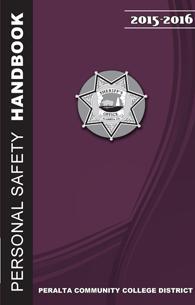 Personal Safety Handbook 2015-16
