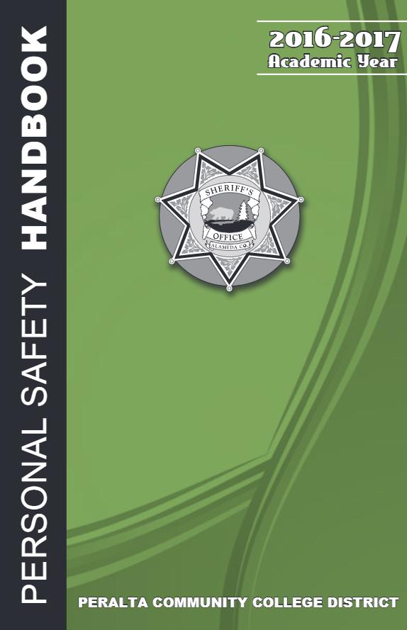 Personal Safety Handbook 2016-17