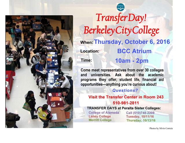 Transfer Day Flyer