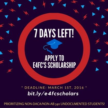 E4FC Scholarship